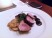 Black Pepper Crusted Tuna Caponata, White Beans and Warm Coriander Red Wine Vinaigrette