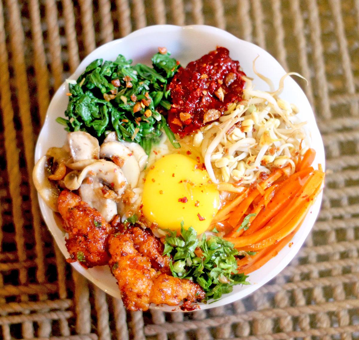 Bibimbap-style Rice
