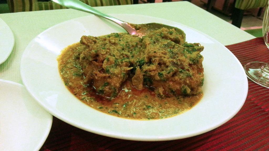 Chicken Egusi