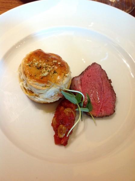 'Aussie bucco' lamb shank pie with orange gremolata