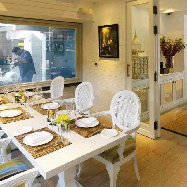 Chef Dining Room Gaggan, Bangkok
