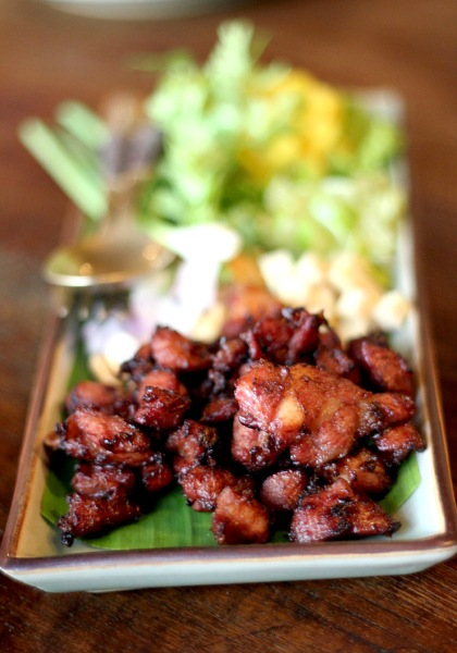 Deep-Fried Sour Spareribs Ruen Mallika, Bangkok