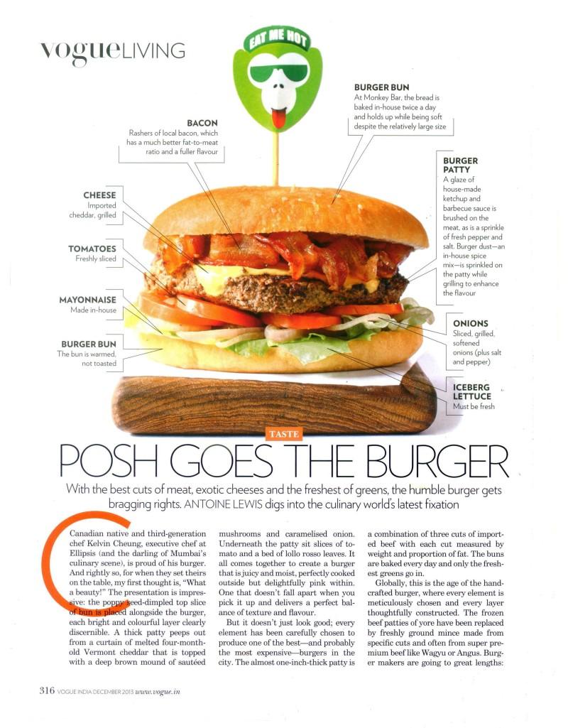 Burger, Vogue India, Dec 2013