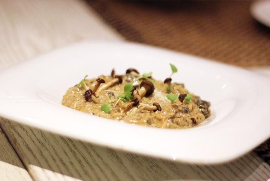 Mushroom risotto Gaggan, Bangkok
