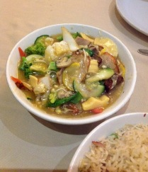 Pork with Bamboo Shoot and Mushroom Chinese Room, Pune