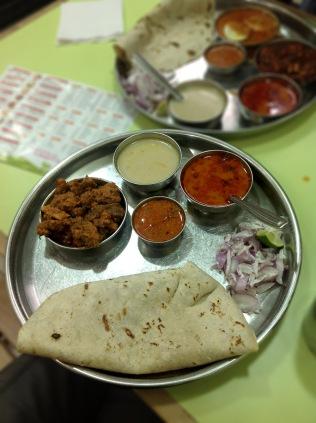 Special Mutton Thali Gaavkari, Pune