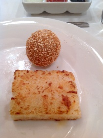 Turnip cake India Jones, Trident, Mumbai