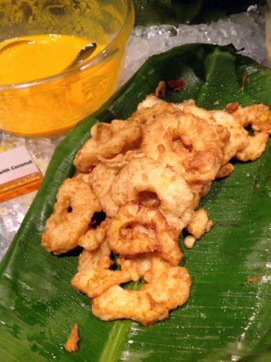 Fried Pineapple and Mango Soup with Coconut Vietnamese Festival, Pondicherry Cafe, Sofitel, Mumbai