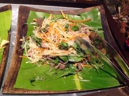 Green Papaya with Beef Salad Vietnamese Festival, Pondicherry Cafe, Sofitel, Mumbai
