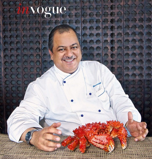 Executive Chef Hemant Oberoi, Taj, Mumbai
