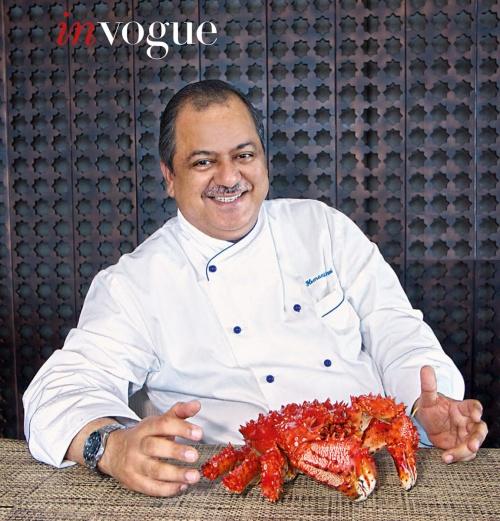 Executive Chef Hemant Oberoi, Taj, Mumbai