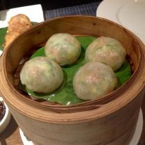 Zucchini and Mushroom Dumpling Chao Ban, Mumbai