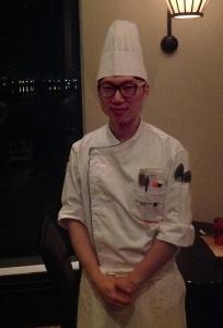 Chef Oh Wong Jong of the JW Marriott, Seoul