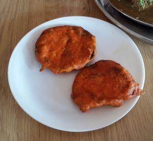 Baingan Fry, Assam Bhavan, Vashi