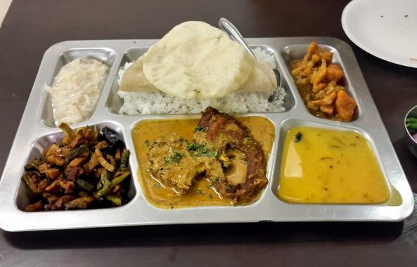 Fish Thali, Odisha Bhavan, Vashi