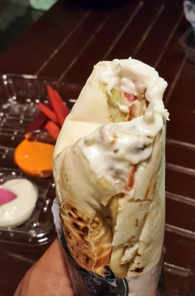 Chicken Shawarma, Carter's Express, Colaba