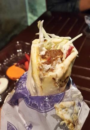 Mutton Shawarma Carter's Express, Colaba
