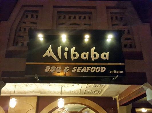 Alibaba signage, Mumbai