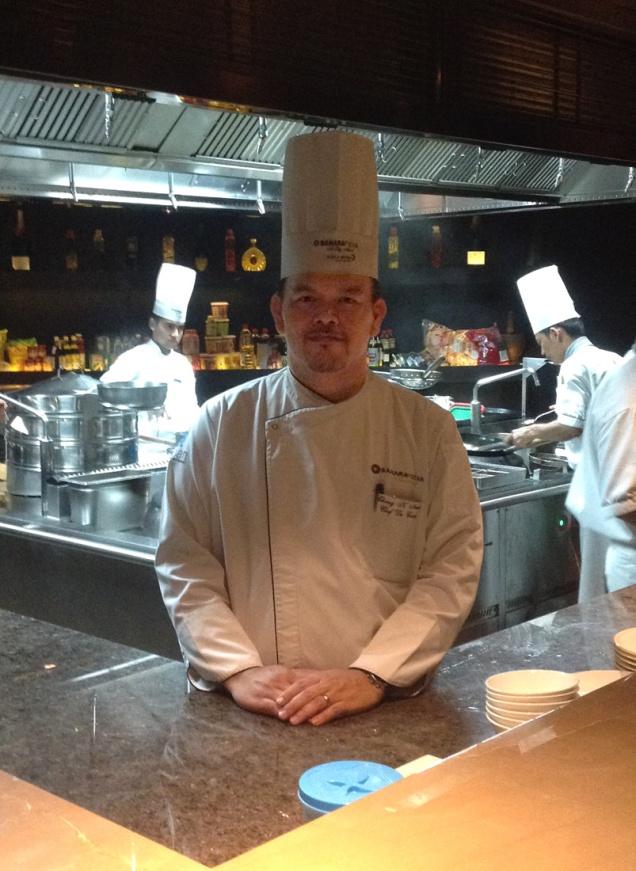 Chef Kroongtana Nimmu (Chang) EAST, Sahara Star, Mumbai