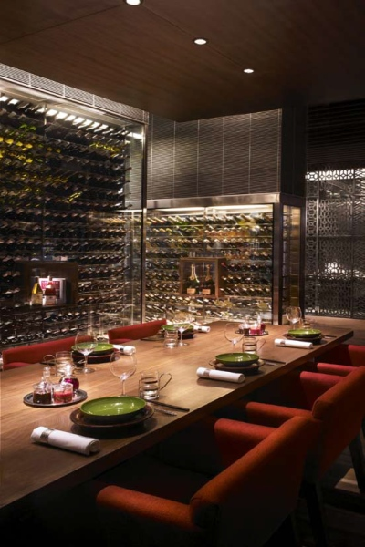 Wine Library, China House, Grand Hyatt, Mumbai