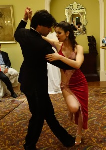 A Tango performance at World Malbec Day, Mumbai