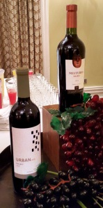 The two Malbec wines served Misterio and Urban Uco