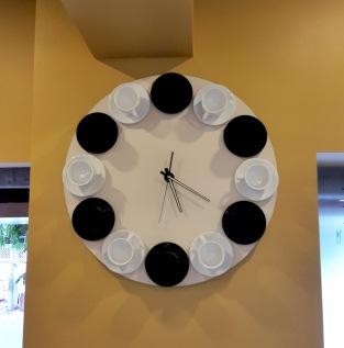 Interiors Clock Wagh Bakri Tea Lounge, Vile Parle