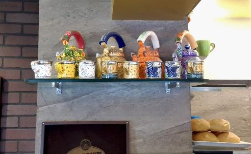 Interiors Cups Wagh Bakri Tea Lounge, Vile Parle