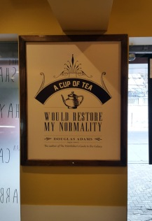 Interiors Poster Wagh Bakri Tea Lounge, Vile Parle