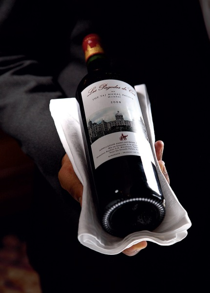 Les Pagodes des Clos au The Taj Mahal Palace Mumbai: the Grand Palace wine
