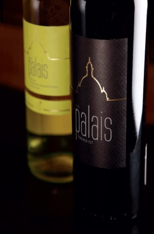 Palais; the entry level Old World, easy-drinking wines