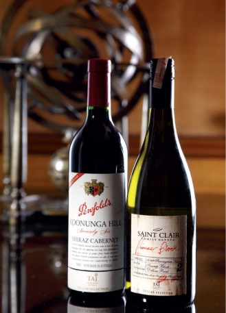 Koonunga Hills and Saint Clair, The two Cellar Collection wines