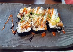 Dragon Roll, Citrus, The Leela, Mumbai