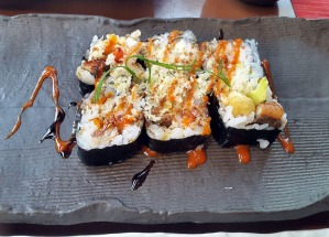 Dragon Roll, Citrus, The Leela, Mumbai
