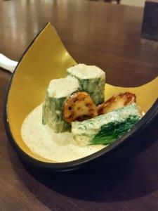 Spinach Salad, Saizen, Colaba