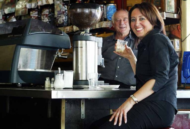 Barista and judge Maria Paoli
