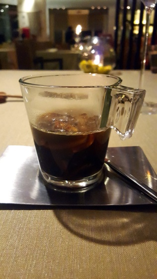 Purity of Earth: mushroom soup, truffle