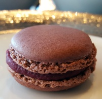 Blueberry Macarons by Pierre Herme, Tosca Lounge and Bar, Hong Kong