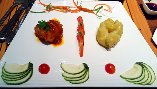 Chilli Bean and Wasabi Prawn, Pan Asian, ITC Grand Maratha, Mumbai