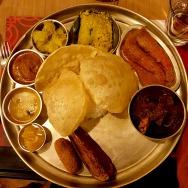 Non-veg Thali, 6 Ballygunge, Kolkata