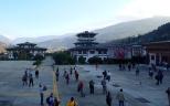 Passengers at Paro Airport, Bhutan