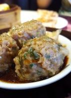 Steamed Beef Meatball, One Dimsum, Hong Kong