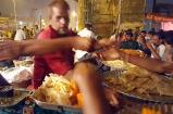 Customers at the counters placing their orders, Mahim Urs Festival, Mumbai