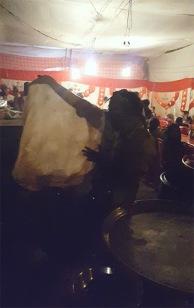 Paratha and Halwa, Mahim Urs Festival, Mumbai