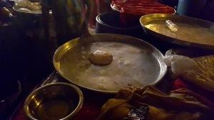 The original ball of dough, Mahim Urs Festival, Mumbai