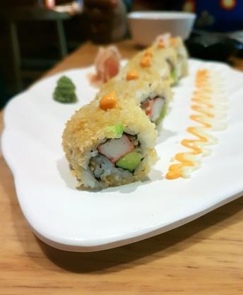 Crunchy California roll, Kuai Kitchen, Colaba