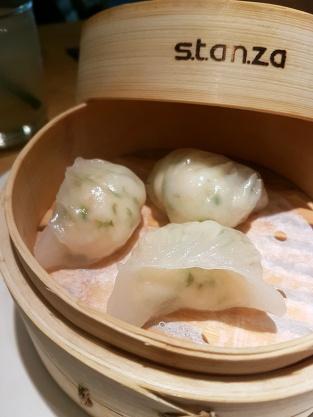 Prawn and chive dumpling, Kuai Kitchen, Colaba