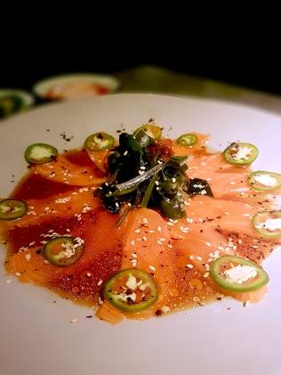 Salmon Carpaccio, Jia, Mumbai
