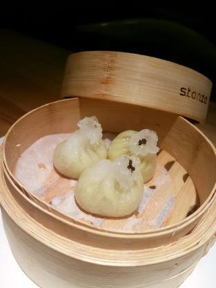 Truffle edamame dumpling, Kuai Kitchen, Colaba