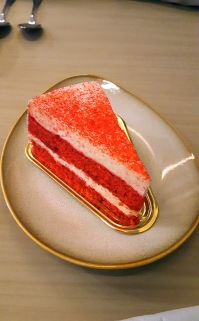 Red Velvet Cheesecake, Poetry by Love and Cheesecake